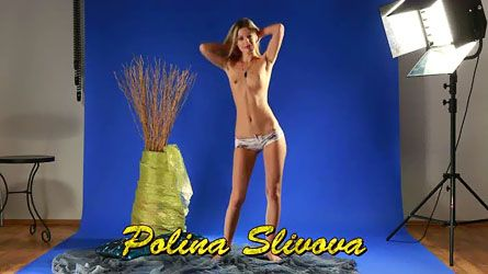 Beautiful virgin Polina Slivova